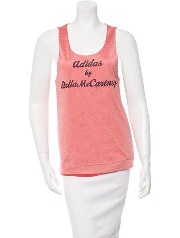 Stella McCartney for Adidas Sleeveless Scoop Neck Top None