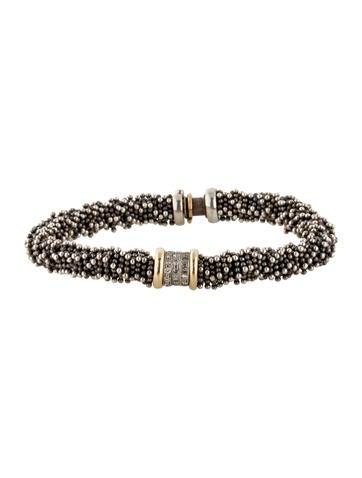 Michael Dawkins Granular Diamond Bracelet