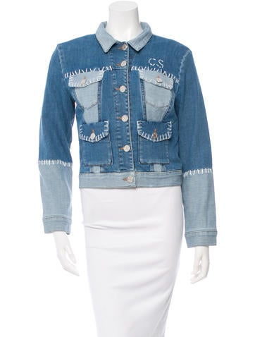 House of Holland Denim Button-Up Jacket w/ Tags