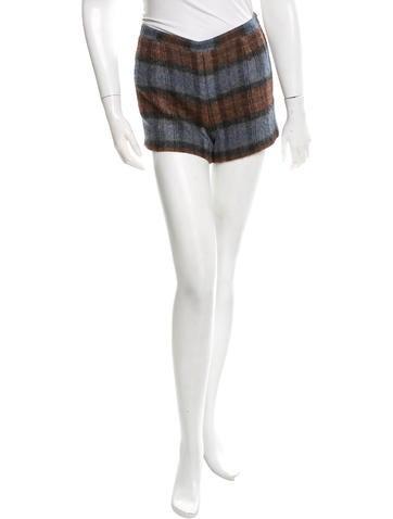 A.P.C. Patterned Mini Shorts