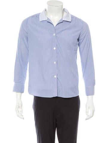 A.P.C. Long Sleeve Button-Up Shirt