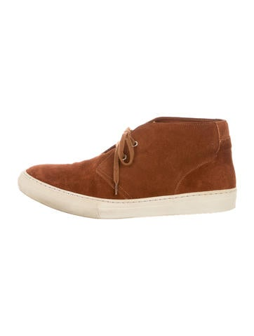 A.P.C. Suede Chukka Boots