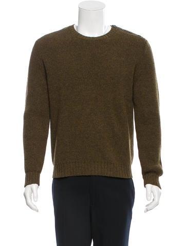 A.P.C. Wool Rib Knit Sweater None