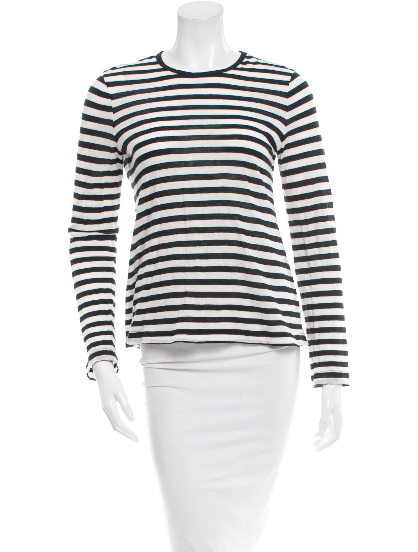 A l c striped long sleeve t shirt tops wa427072 the Striped long sleeve t shirt