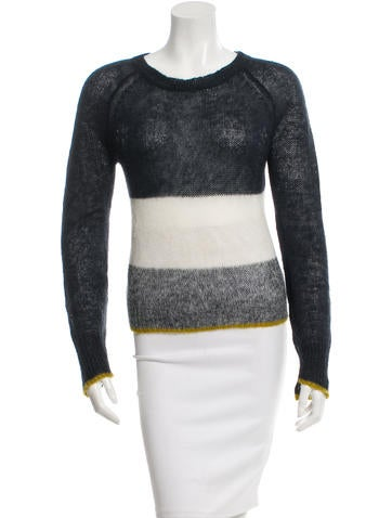 A.L.C. Colorblock Rib Knit Sweater None