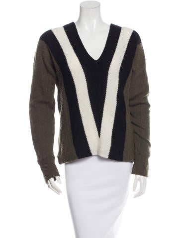 A.L.C. Wool Colorblock Sweater None