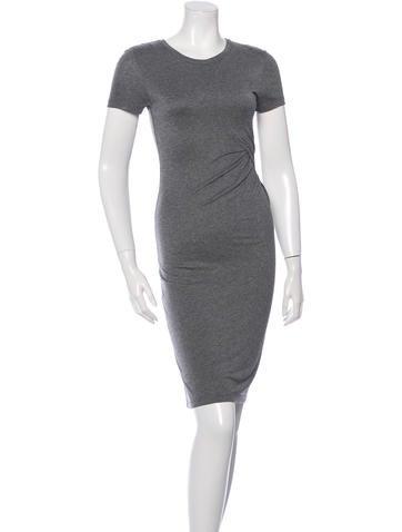 A.L.C. T-Shirt Midi Dress None