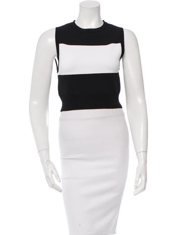 A.L.C. Two-Tone Cropped Top w/ Tags None