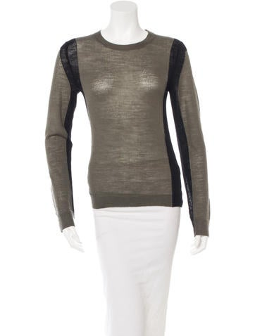A.L.C. Wool Colorblock Sweater None