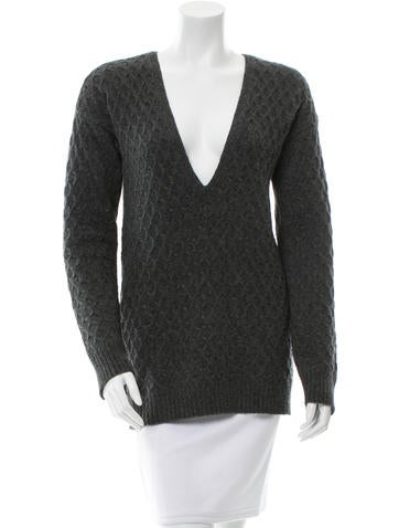 A.L.C. Knit V-Neck Sweater None
