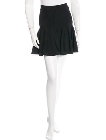 A.L.C. Knitted Mini Skirt None