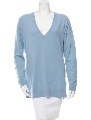 Allude Cashmere V-Neck Sweater w/ Tags None