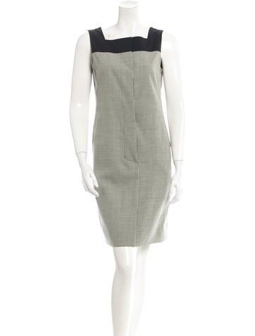 Akris Punto Wool Dress None