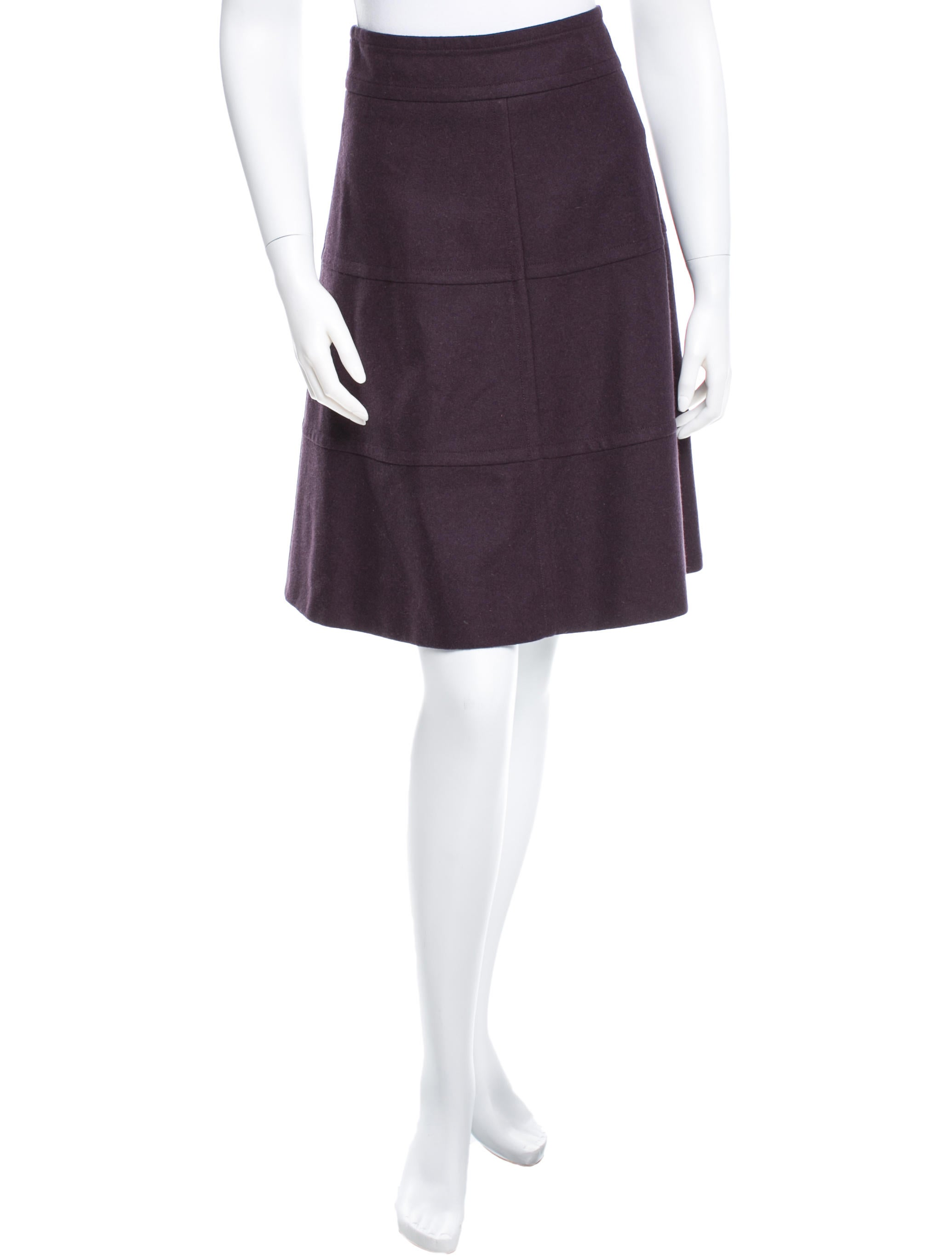 akris punto a line knee length skirt skirts wak24580