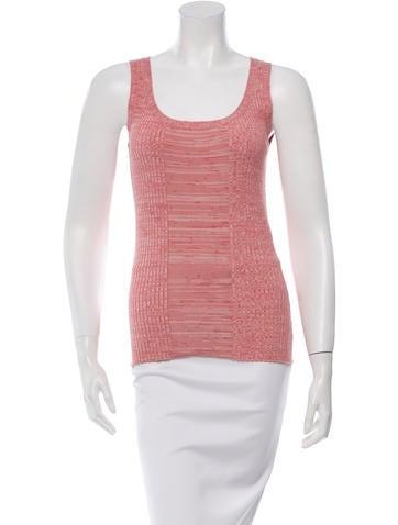 Akris Punto Patterned Wool-Blend Top None