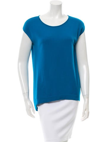 Akris Punto Wool & Cashmere-Blend Knit Top None