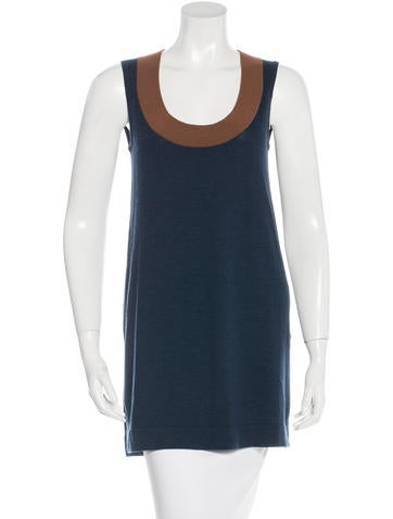 Akris Punto Wool Sleeveless Top w/ Tags None