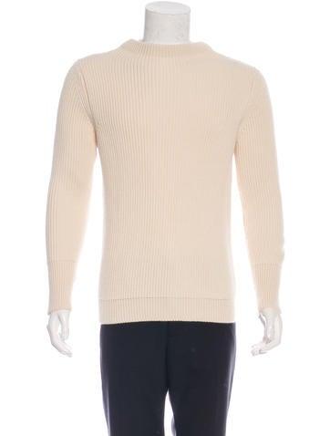 Andersen-Andersen Wool Rib Knit Sweater None