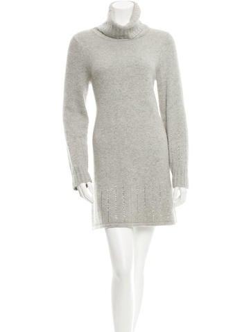 Alice + Olivia Long Sleeve Sweater Dress None