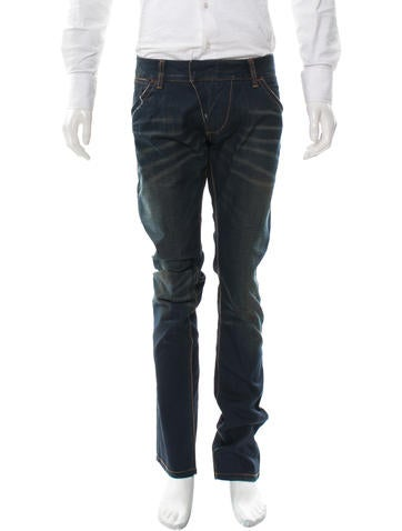 ARI New Moto Straight-Leg Jeans w/ Tags