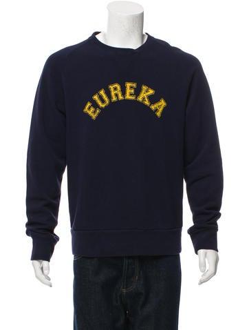 Michael Bastian Printed Textured Sweatshirt None