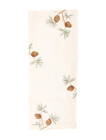 Bergdorf Goodman Houria Tazi Embroidered Table Runner