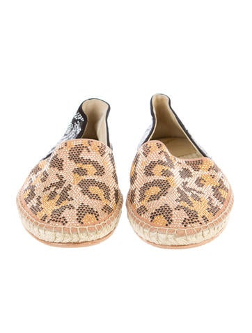 B Brian Atwood Espadrille Flats