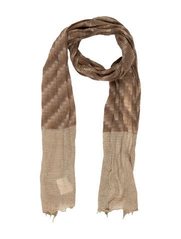 Bonpoint Girls' Patterned Knit Scarf w/ Tags None