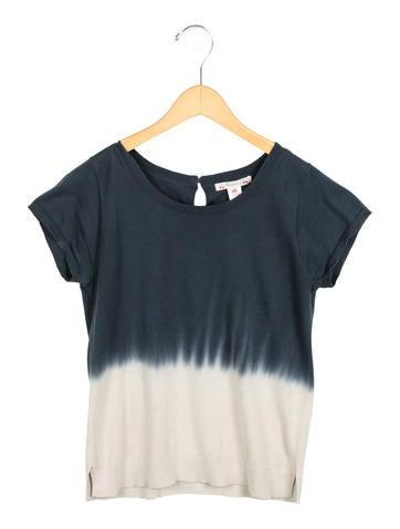 Bonpoint Girls' Dip-Dye Knit Top None
