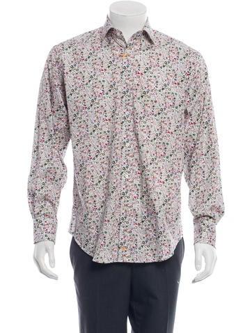 Thomas Dean Floral Button-Up w/ Tags