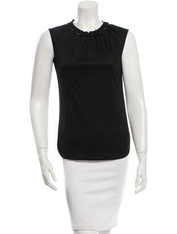 D&G Embellished Sleeveless Top w/ Tags None