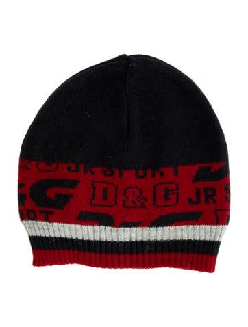 D&G Boys' Patterned Beanie None
