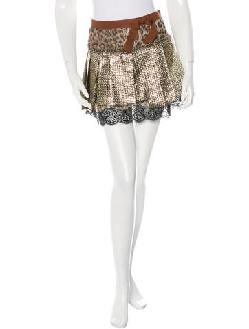D&G Mix Printed Skirt None