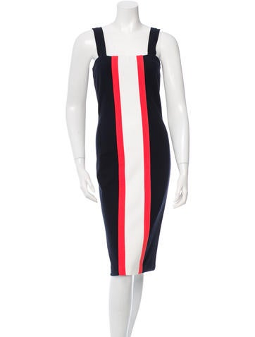 Diane von Furstenberg Porta Colorblock Dress w/ Tags