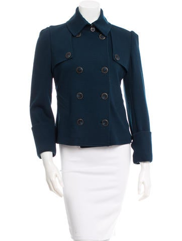 Diane von Furstenberg Eliot Short Wool Jacket w/ Tags