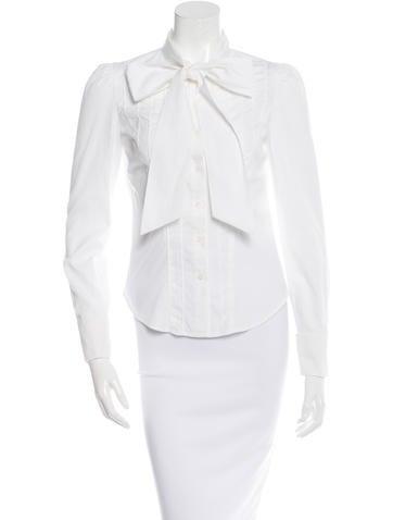 Diane von Furstenberg Laurella Button-Up Top