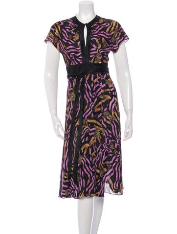 Diane von Furstenberg Silk Svetlana Dress