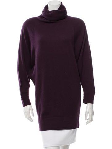 Diane von Furstenberg Cashmere Turtleneck Sweater None