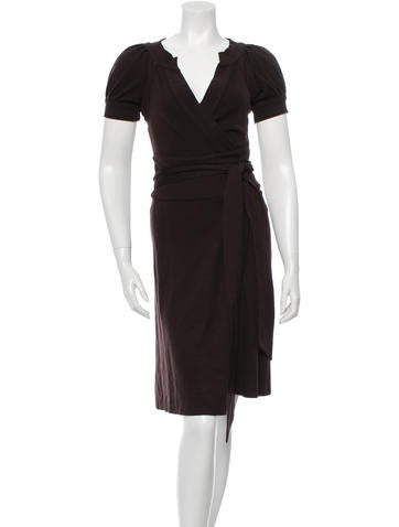 Diane von Furstenberg Lauren Wrap Dress None