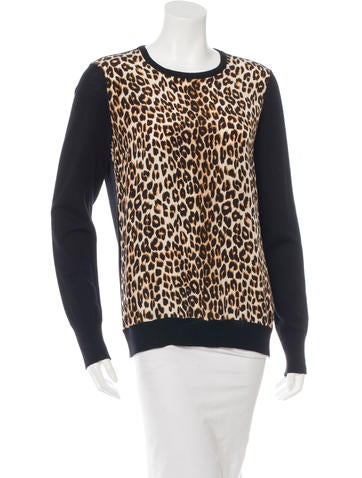 Equipment Silk and Wool Printed Top None