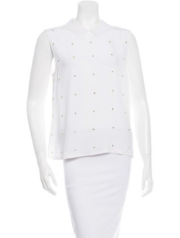 Equipment Silk Embellished Top None