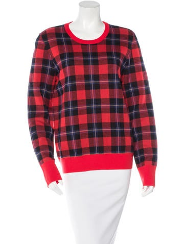 Equipment Plaid Wool Sweater w/ Tags None
