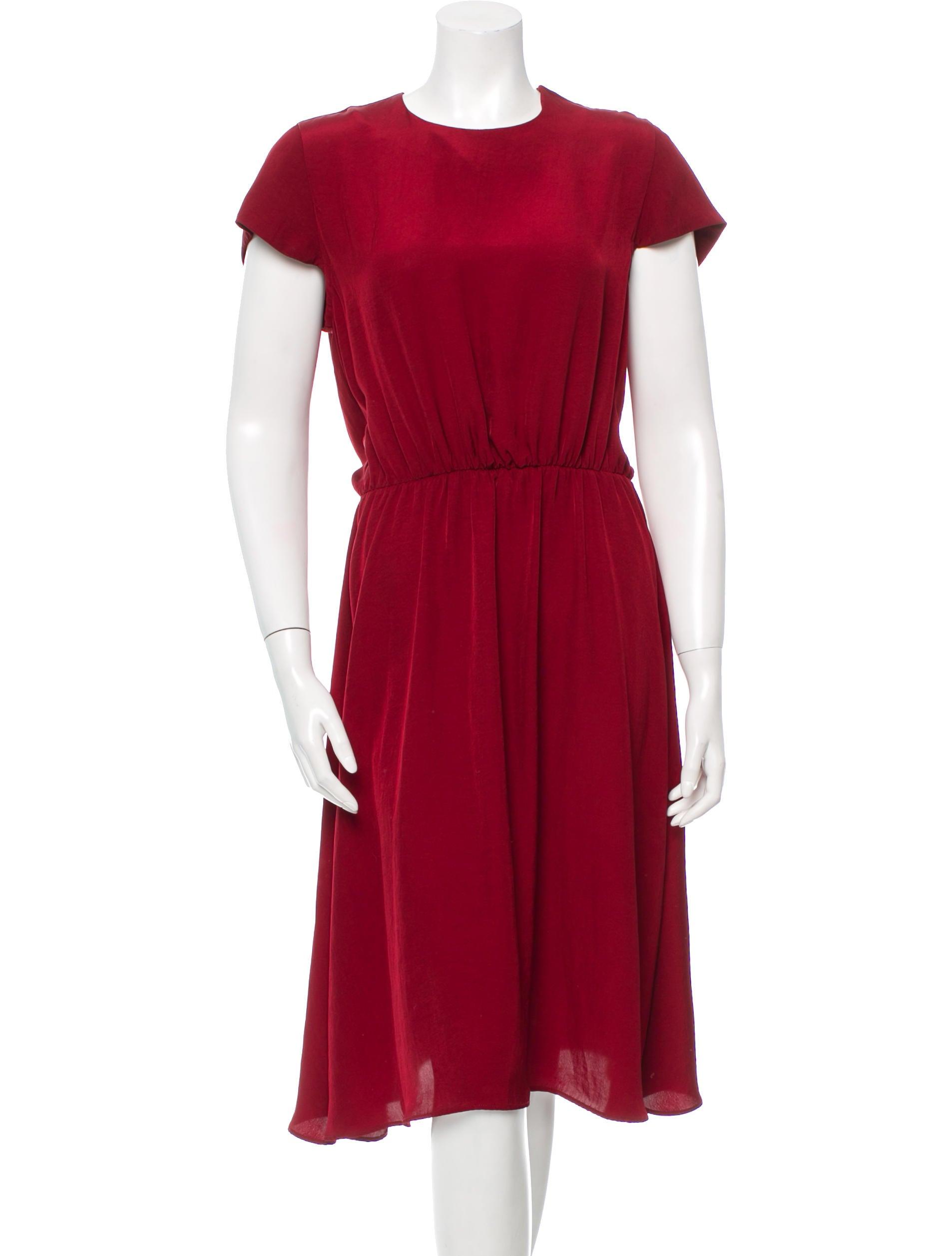 Toile isabel marant short sleeve midi dress clothing for Isabel marant shirt dress