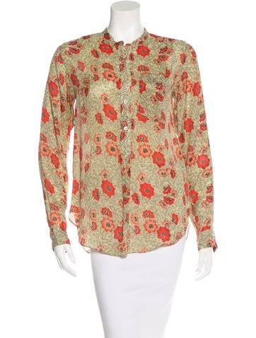 Isabel Marant Etoile Floral Blouse 58