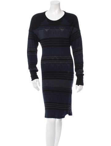 Étoile Isabel Marant Stripe Knit Dress None