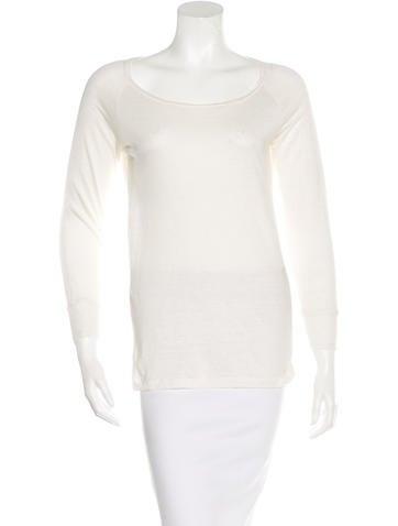 Étoile Isabel Marant Linen Long Sleeve Top None