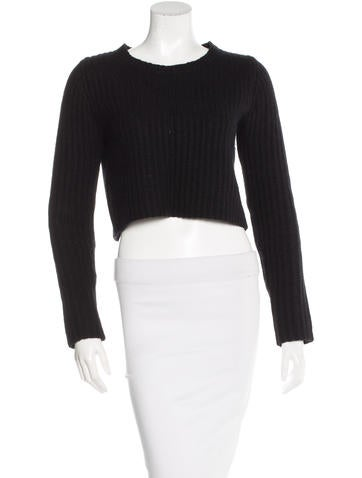 Faith Connexion Wool Cropped Sweater None