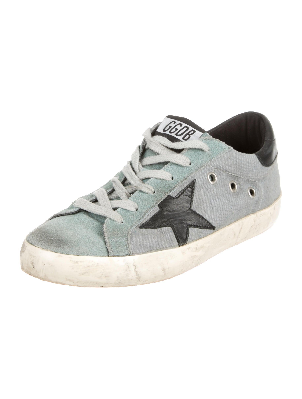 golden goose canvas low top sneakers shoes wg521357