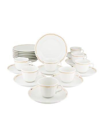 Richard Ginori Gilt Porcelain Tableware None