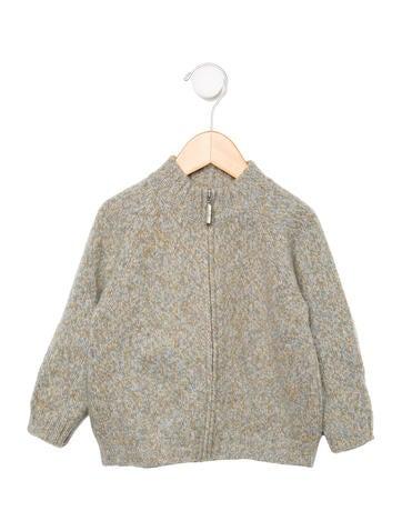 Il Gufo Boys' Mock Neck Sweater None